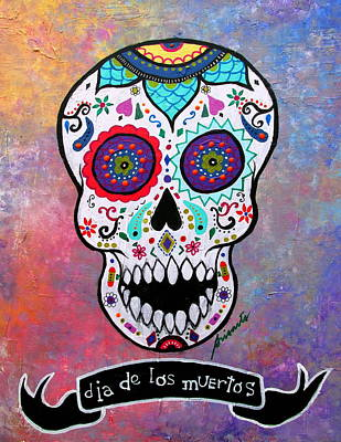 Painting - Dia De Los Muertos Calavera by Pristine Cartera Turkus
