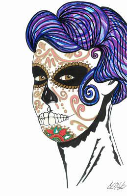 Dia De Los Muertos Art Print by Carlos Martinez