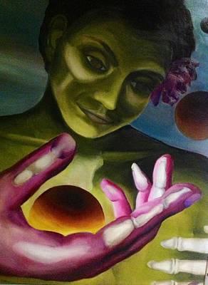 Painting - Dia De Los Muertos by Clotilde Espinosa