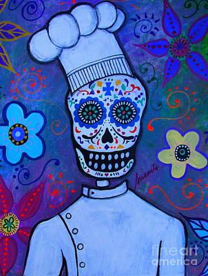 Dia De Los Muertos Cocinero Art Print