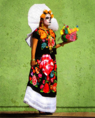Photograph - Dia De Los Muertos Dancer 3 by Timothy Bulone