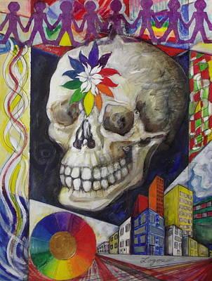 Painting - Dia De Los Muertos by Stephen Hawks