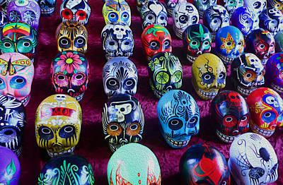 Dia De Los Muertos Art Print by Timothy Ramos