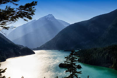 Photograph - Diablo Lake by Charles Lupica