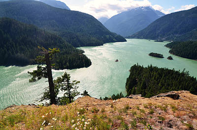 Photograph - Diablo Lake by Kelly Reber