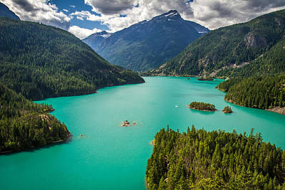 Photograph - Diablo Lake  by Pierre Leclerc Photography