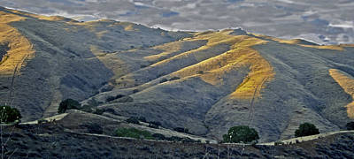 Photograph - Diablo Mountain San Luis Reservoir by SC Heffner