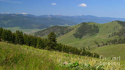 Photograph - Diagonals Hills And Mountains by Charles Kozierok