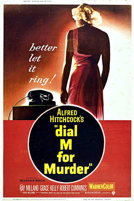Dial M For Murder - 1954 Art Print