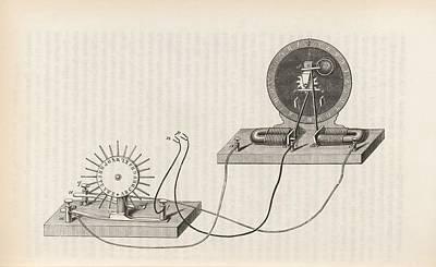 Dial Telegraph System Art Print