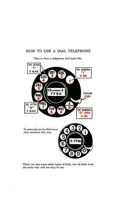 Retro Photograph - Dial Telephone Phone Case by Mark Rogan