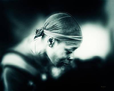Photograph - Diamond Earring by Bob Orsillo
