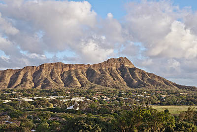 Photograph - Diamond Head In Honolulu Hawaii by Marek Poplawski