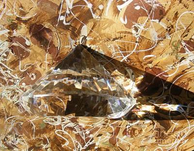 Seem Painting - Diamond In The Rough by Nancy Kane Chapman