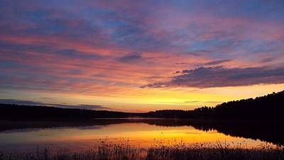 Photograph - Diamond Lake Dawn by Cindy Croal
