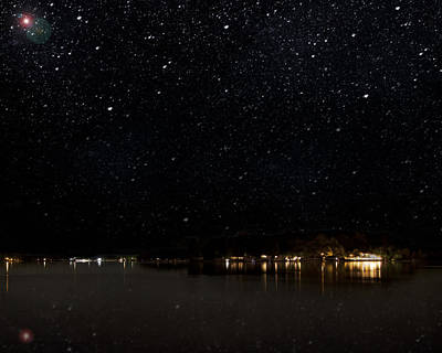 Photograph - Diamond Lake by John Crothers