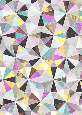 Graphics Painting - Diamond by Laurence Lavallee