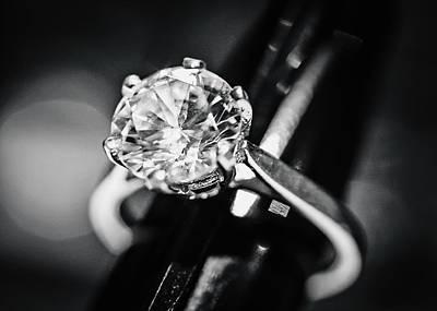 Diamond Ring Art Print