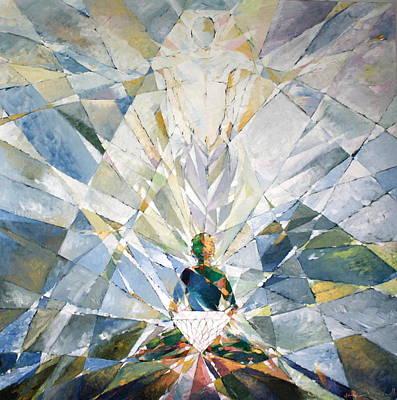 Painting - Diamond Soul by Yogendra  Sethi