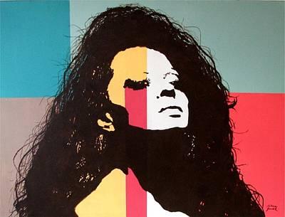 Diana Ross Painting - Diana Ross by Milena Gawlik