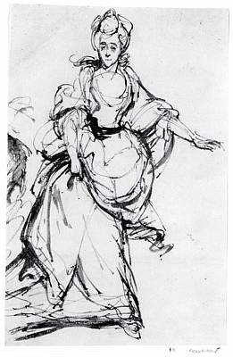 Diana, Viscountess Crosbie Art Print