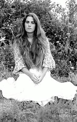 Photograph - Diane-montauk 1979 by Ed Weidman