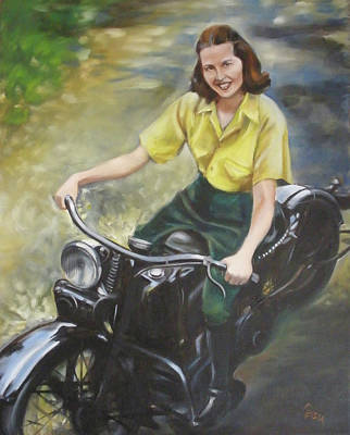 Painting - Diane's Granma by Kaytee Esser