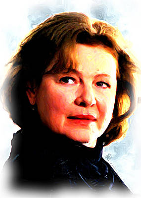 Blockbuster Painting - Dianne Wiest by Paul Quarry