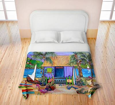 Painting - Dianochedesigns Duvet by Patti Schermerhorn