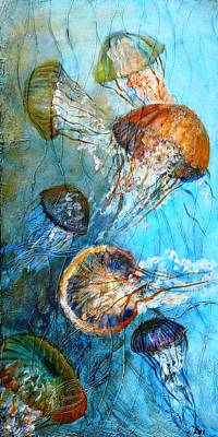 Diaphonouse Jellies-sold Art Print