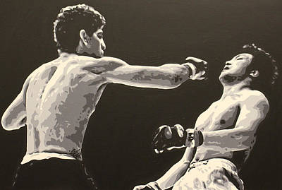 Painting - Diaz V. Gomi by Geo Thomson