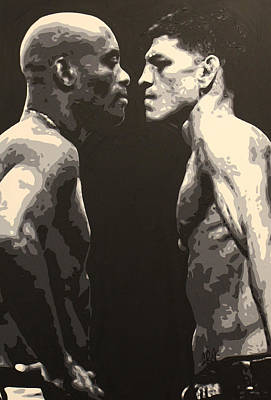 Painting - Diaz V. Silva by Geo Thomson