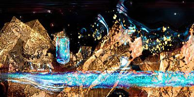 Photograph - Dichro Stream by Mary Lovein
