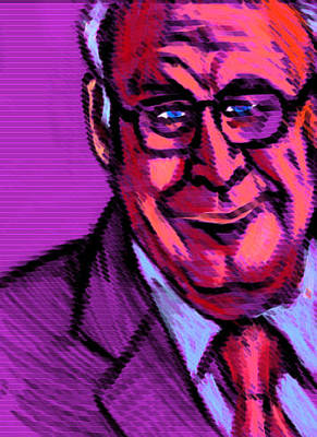 Dick Cheney Drawing - Dick Cheney by Mike Miller