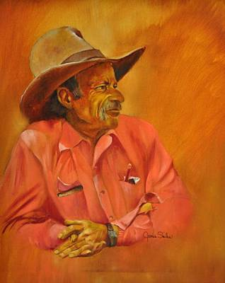 Painting - Dick by James Skiles