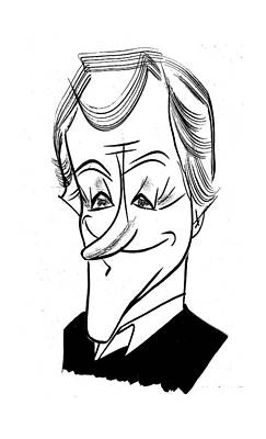 Dick Van Dyke Art Print by Tom Bachtell