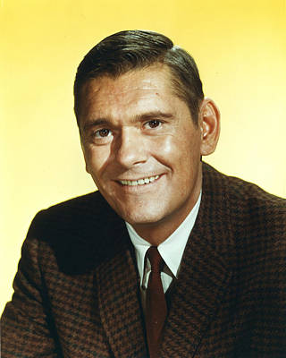 Bewitched Photograph - Dick York In Bewitched  by Silver Screen