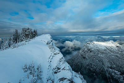 Mountain Royalty-Free and Rights-Managed Images - Dickerman Peak by Ryan McGinnis