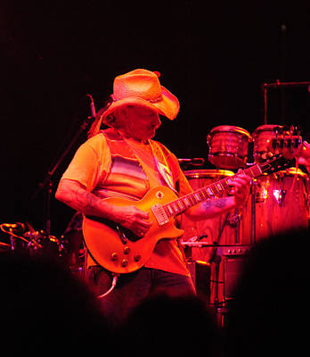 Photograph - Dickey Betts Jammin by Mike Martin