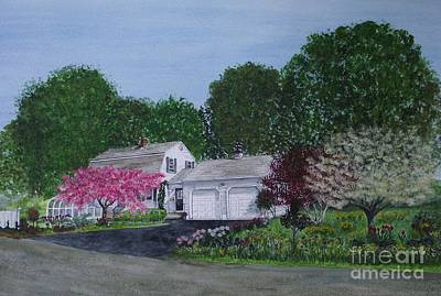 Painting - Dick's House by Michelle Welles