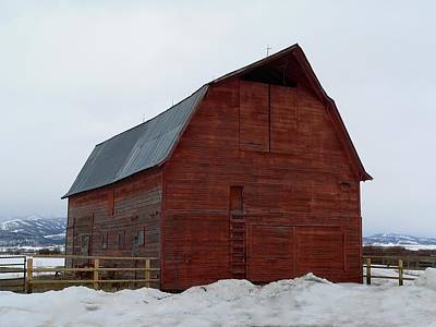 Photograph - Dictionary's Red Barn by Eric Tressler