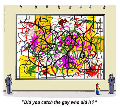 Did You Catch The Guy? Art Print