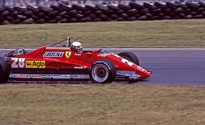 Didier Pironi Photograph - Didier's Ferrari by Mike Flynn