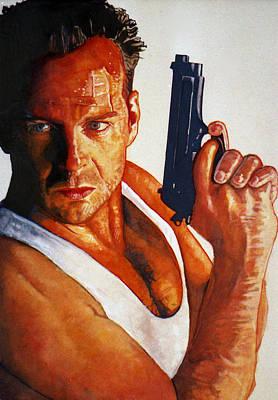 Die Hard Art Print by Michael Haslam