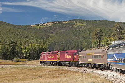 Photograph - Diesel Electric Engines 227 And 459 Rio Grande Scenic Rail Road by Fred Stearns