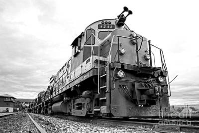 Freight Train Photograph - Diesel Electric Locomotive by Olivier Le Queinec