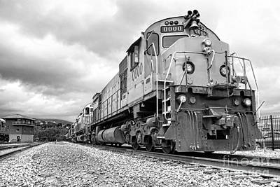 Photograph - Diesel Electric Locomotives by Olivier Le Queinec