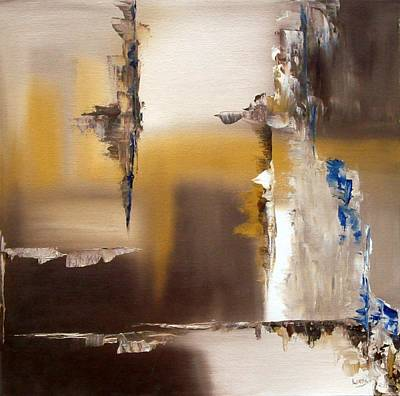 Wall Art - Painting - Difficult Passage by Linda Wimberly