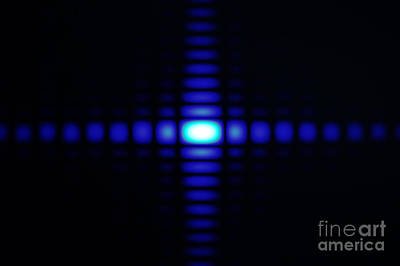 Aperture Photograph - Diffraction On Rectangular Aperture by GIPhotoStock
