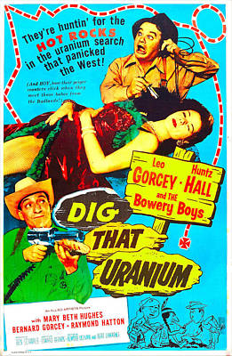 Dig That Uranium, Us Poster, From Top Art Print